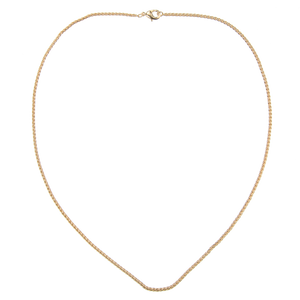 Image of Emilia Twisted gold necklace 60 cm from Emilia by Bon Dep