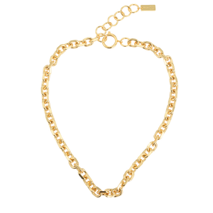 Image of Emilia Angeled chain necklace 40 cm from Emilia by Bon Dep