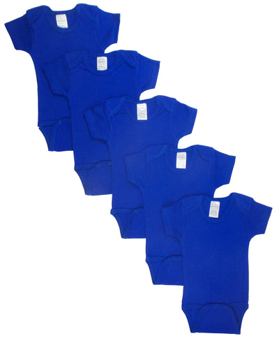BLUE BODYSUIT ONEZIES (PACK OF 5)