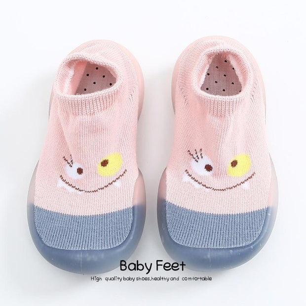 TODDLER BABY GIRL BOY BREATHABLE SOCK SHOES