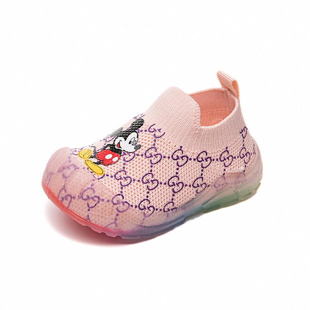 DISNEY SPRING AUTUMN BABY SOCKS SHOES