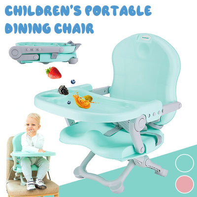 CHILDREN PORTABLE FOLDING DINING CHAIR
