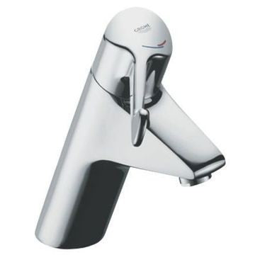 GROHE EUROECO BASIN MIXER. LEVER 120MM. TEMPERATURE LIMITER