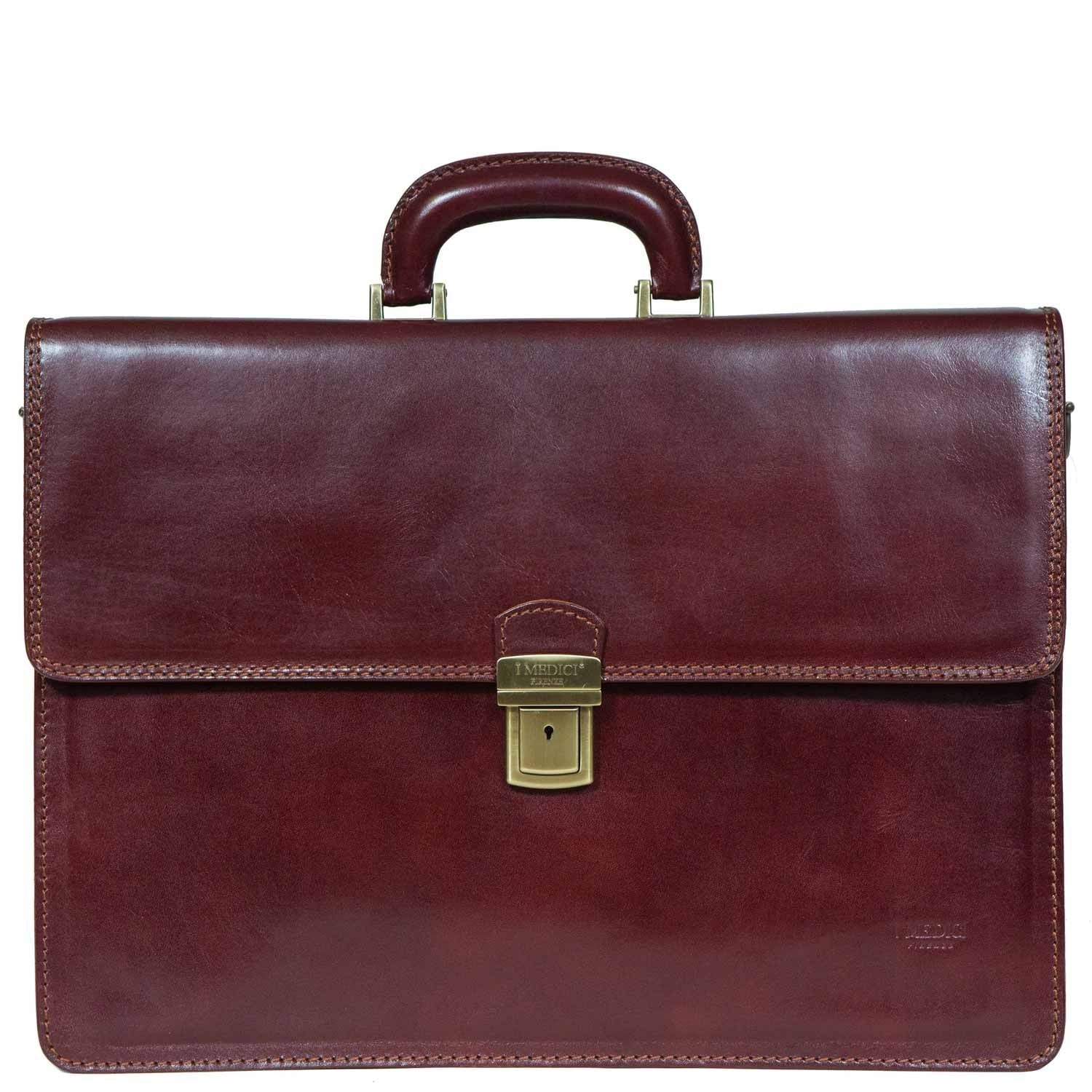 CEO leather briefcase