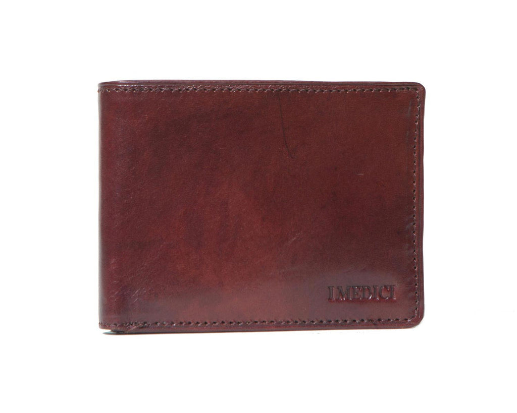 I Medici Bifold Classic Wallet for Men in Brown
