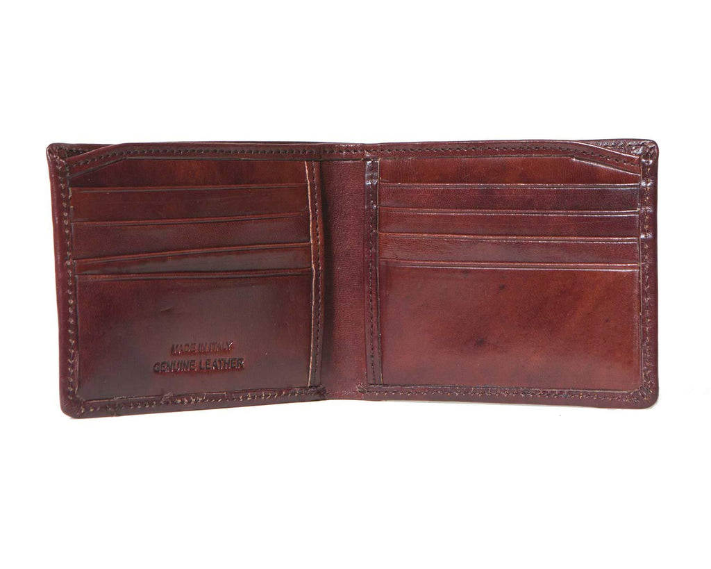 Inside of I Medici Bifold Classic Wallet for Men