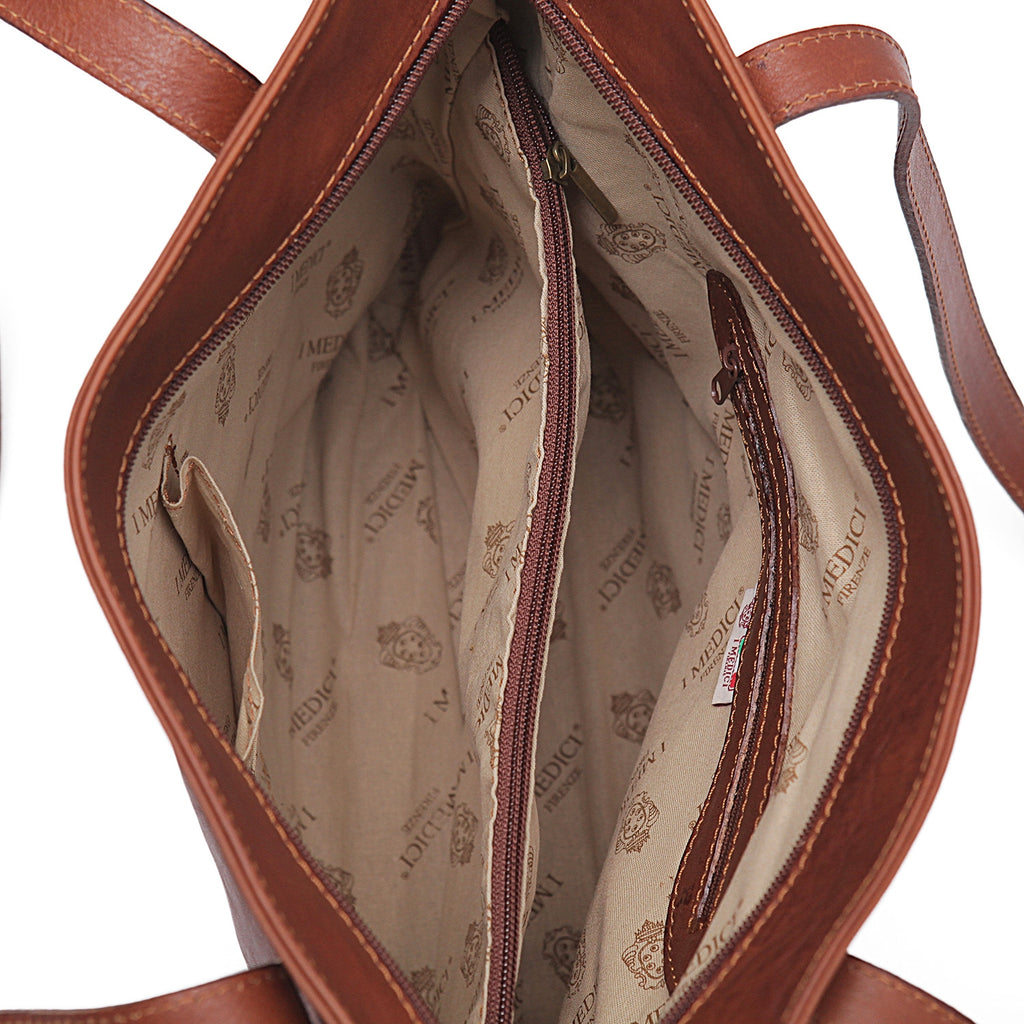 Inside of I Medici Pavia Large Tote Bag