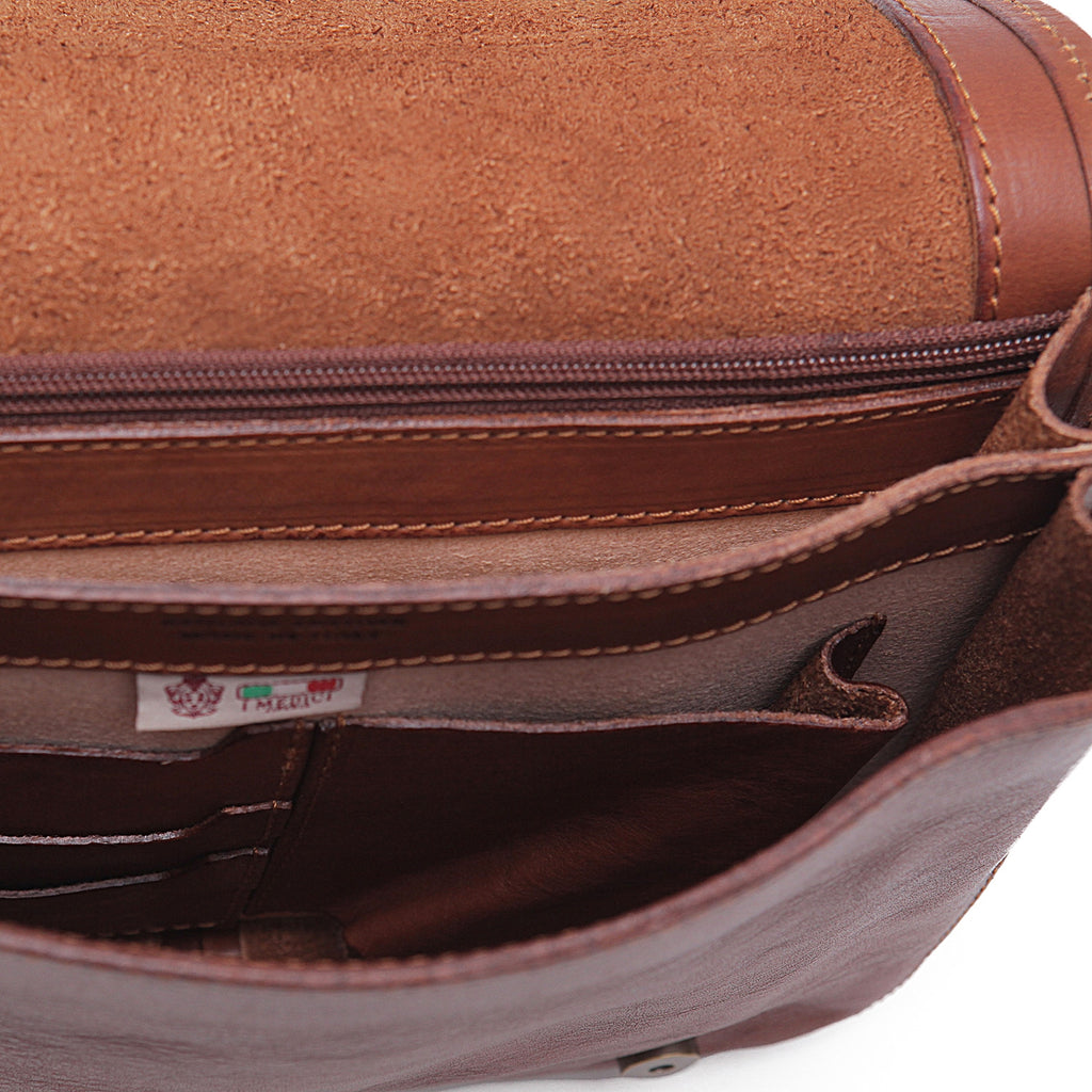 Inside of I Medici Asti Small Messenger Bag