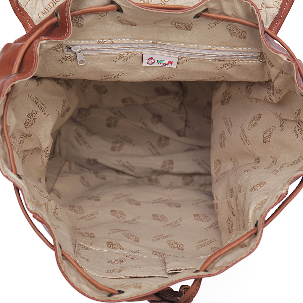 Inside of I Medici Trapani Large Backpack