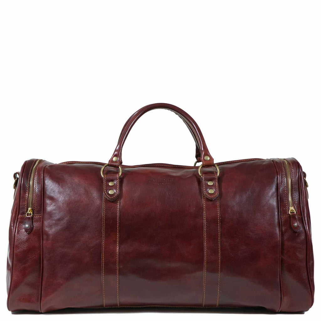 I Medici Borsone Pak-n-Stak Duffel Bag in Brown
