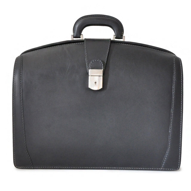 Pratesi Bruce Range Brunelleschi Lawyer's Briefcase, Attorney Case in Black