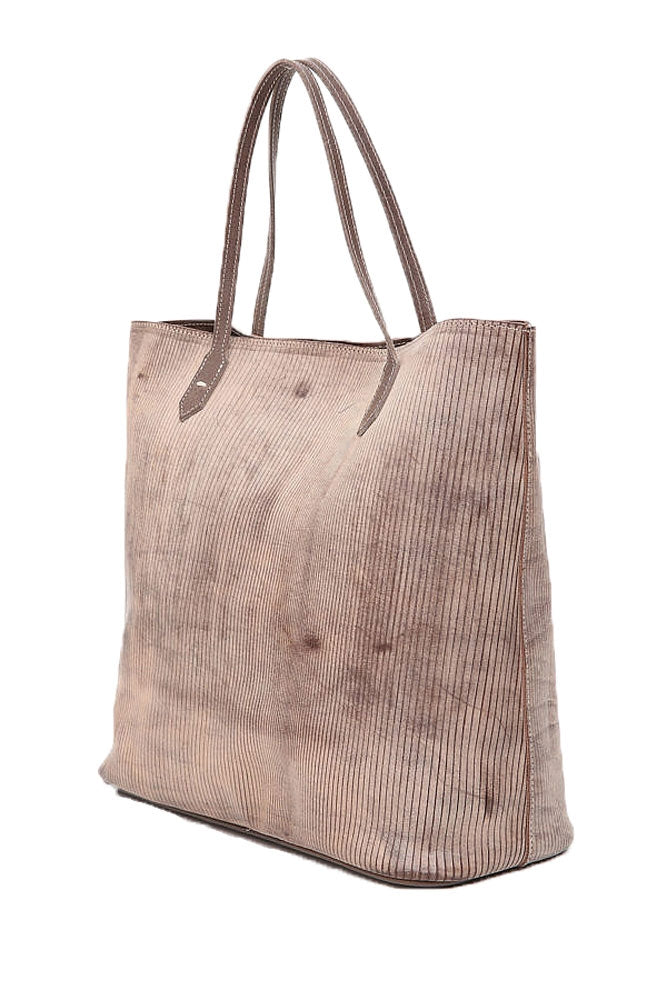 Terrida Ghost Tortuga Shopping Tote Bag in Brown