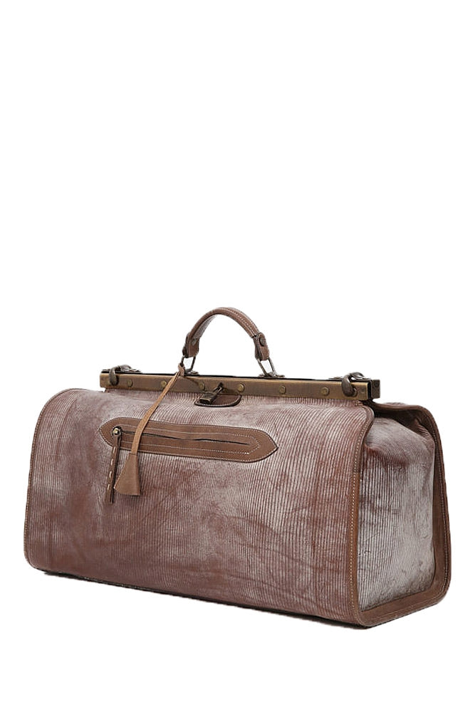Terrida Ghost Carson Travel Duffle Bag, Doctors Style in Brown