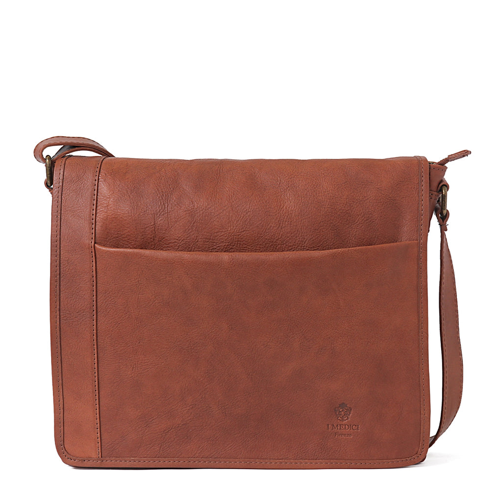 I Medici Barletta Messenger Bag in Brown