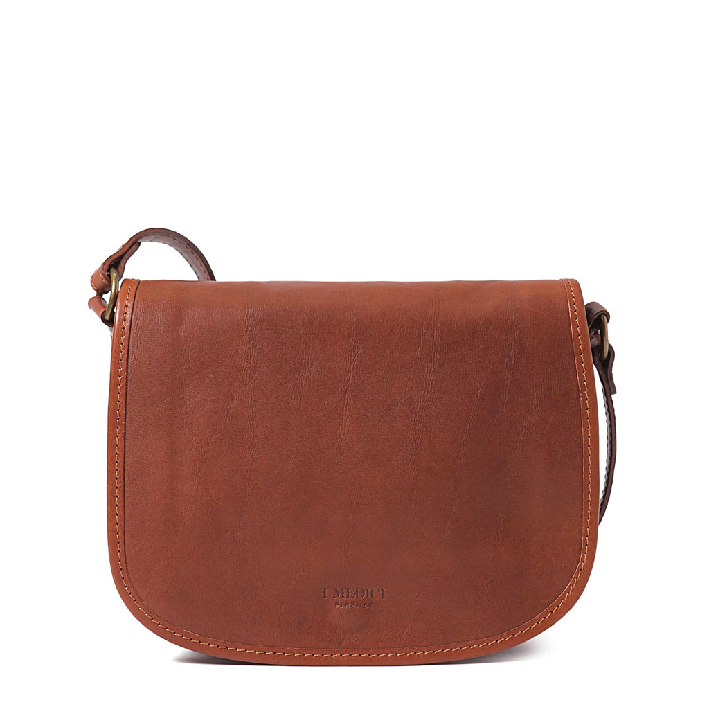 I Medici Anzio Crossbody Purse in Brown