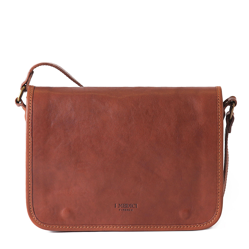 I Medici Asti Small Messenger Bag in Brown