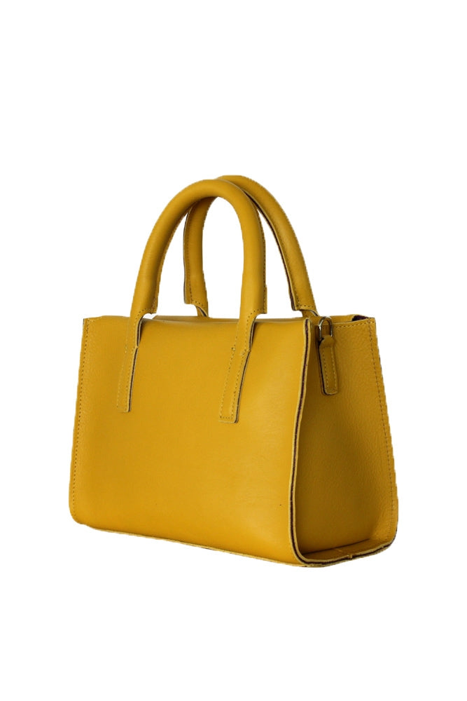 Terrida Murano Collection Leather Handbag for Women in Yellow