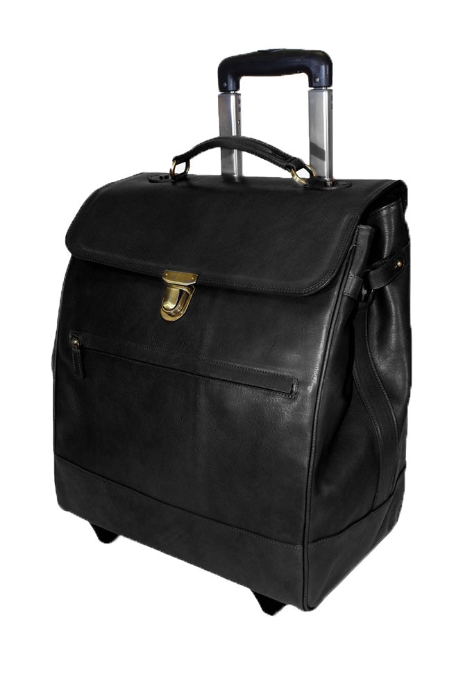 Terrida Marco Polo MICHELANGELO Trolley, Travel Carry on Bag in Black
