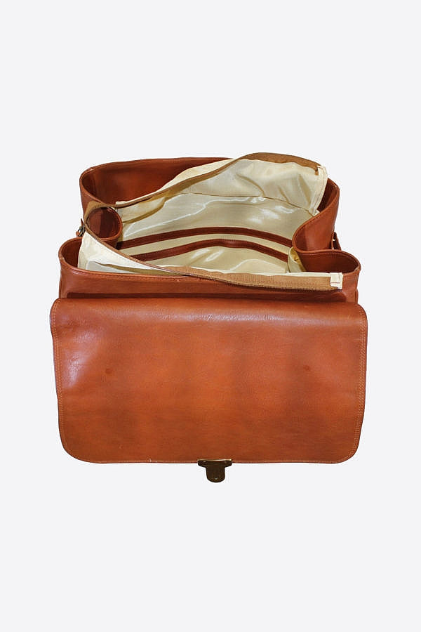Inside of Terrida Marco Polo MICHELANGELO Trolley, Travel Carry on Bag