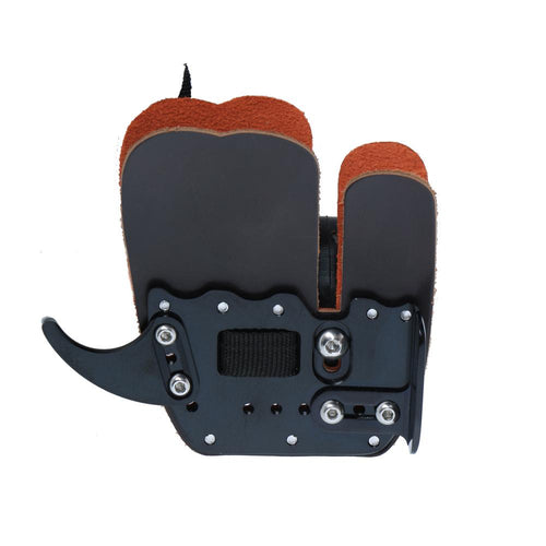 Archery Finger Tab with Strap