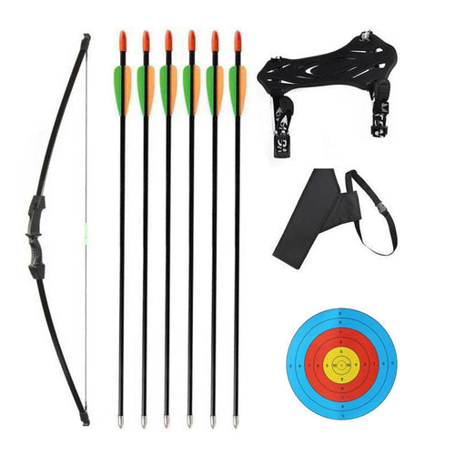 Kids Takedown Bow Arrows Quiver Kit