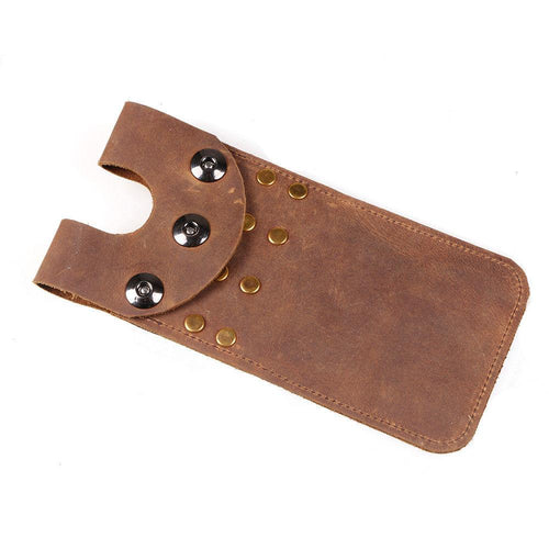 Brown Cow Leather Mini Waist Quiver