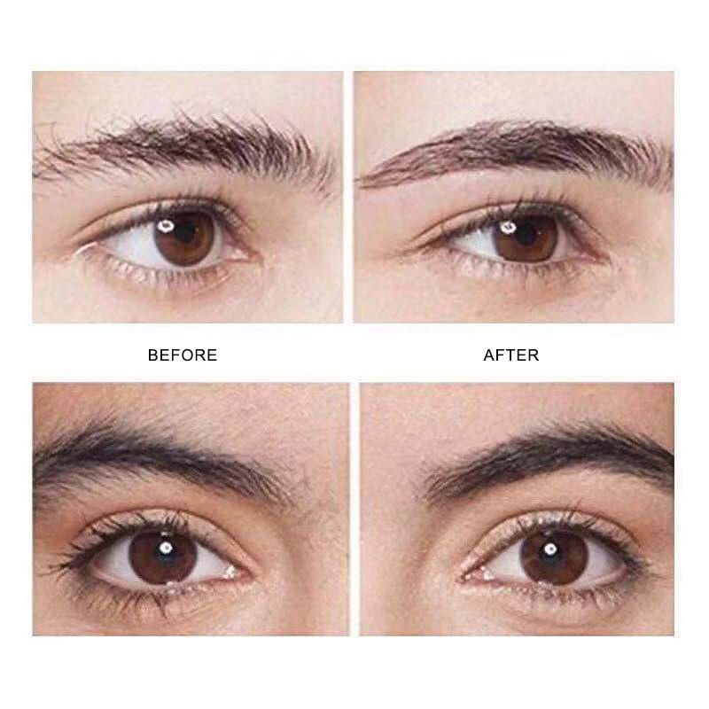 Precision Eyebrow Trimmer | FitSkinCo™ before and after