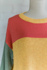 Sunny Color Block Top
