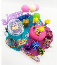 Load image into Gallery viewer, The Birthday in a Box Kit   Pink/Purple/Blue