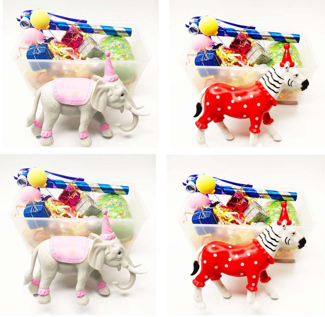Party Animal Party Favor set of 4