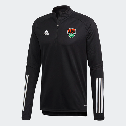 Adidas Black 1/4 Zip Adult