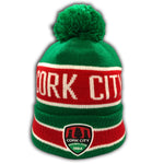 New Era x Cork City Green/White/Red Bobble Beanie