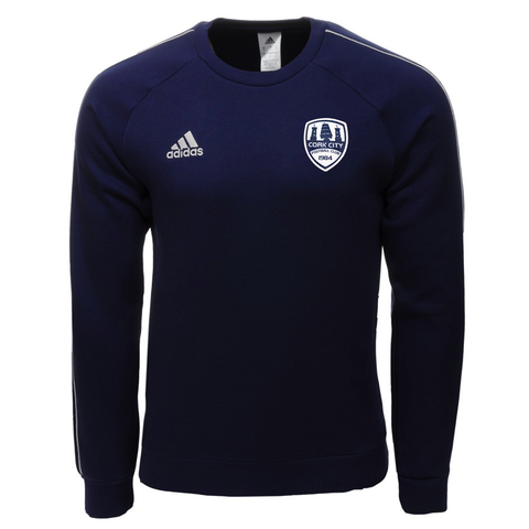 Adidas Navy Core Sweater - Kids / Youths