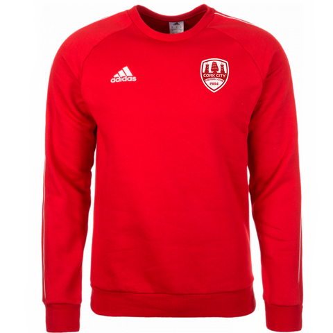 Adidas Red Core Sweater - Kids / Youths