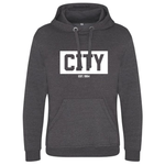 "Grey ""City Since 1984"" Heavy Hoody"