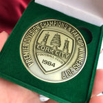 Double Winners 2017 Commemorative Medallion