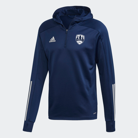 Adidas Navy Hoody Training Top Kids / Youths