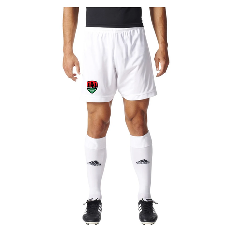 2018 Adidas White Home Shorts - Adult