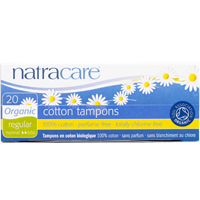 Natracare Organic Tampons (No Applicator)