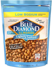 将图片加载到图库查看器,Blue Diamond Almonds Low Sodium Lightly Salted
