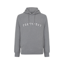 Load image into Gallery viewer, Forty Foot Hoodie | Grey Morning | Chest Print
