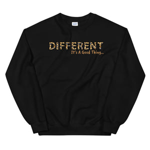 Open image in slideshow, Different It's A Good Thing Unisex Sweatshirt