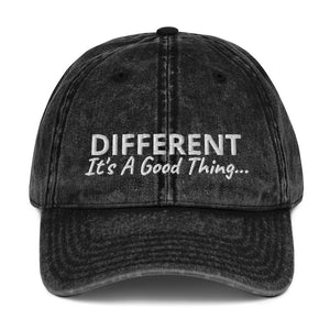 Open image in slideshow, Different It's A Good Thing Vintage Cotton Twill Cap