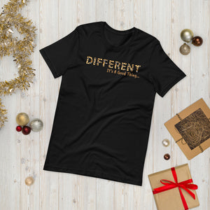 Different It's A Good Thing Animal Print Unisex T-Shirt