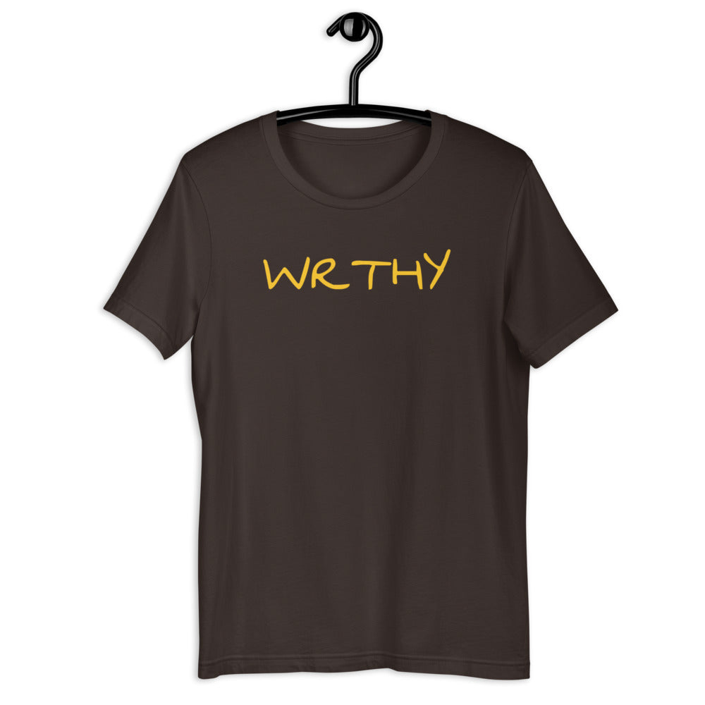 WRTHY Short-Sleeve Unisex T-Shirt