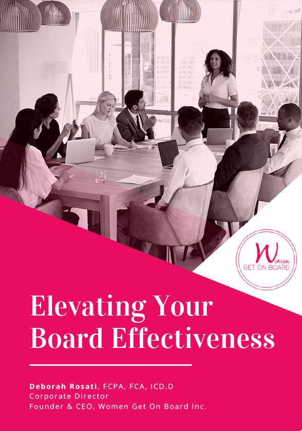 Elevating Your Board Effectiveness