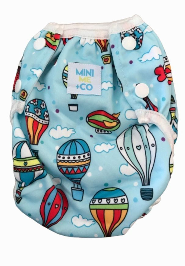 Hot Air Balloon Reusable Swim Nappy