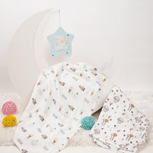 Load image into Gallery viewer, Mushroom Munchkins Muslin Swaddles - 2 Pack