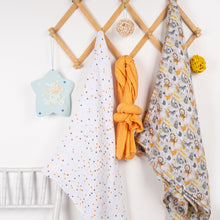 Load image into Gallery viewer, Daily Muslin Swaddles - 3 pack swaddles ACharmedLife.in