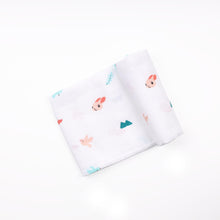 Load image into Gallery viewer, Pink Bunnies Organic Swaddle - 2 pack Organic Swaddle ACharmedLife.in